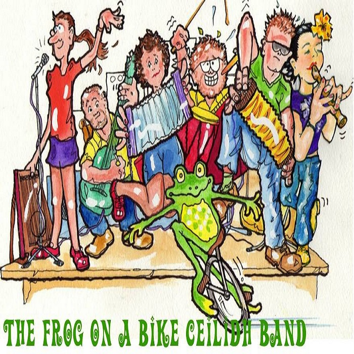 EP Frog on a bike ceilidh band